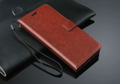 Real Leather Wallet ID Stand Case For Galaxy A7