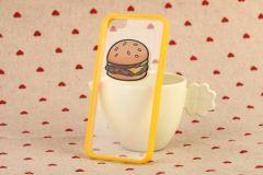 Simple Design Pop Burger Eggs Breakfast Food Case iPhone 6 4.7 inches