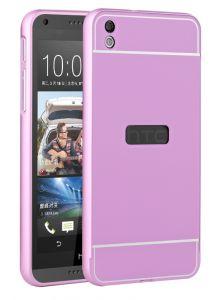 HTC One M9 Thin Metal Logo Bumper Case