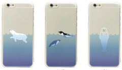 Cute Ocean Sea Animal Thin Case for iPhone 5 5s