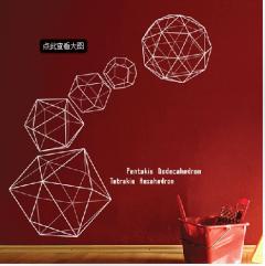 Geometric Shapes Wall Art Stickers